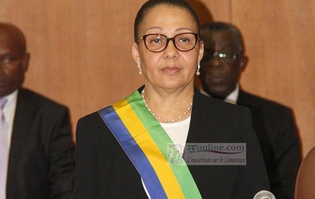 Lucie Milebou Aubusson nommé présidente du Gabon par intérim – 237online.com