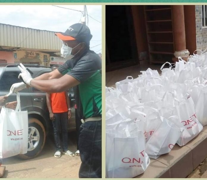 qnet-donates-food-items-to-muslim-widows-association-in-yaounde