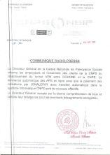 🇨🇲 Rétablissement du tunnel VPN entre DOHONE et la CNPS