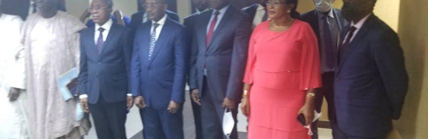 Les Membres de l'Assemblée Générale et du Conseil d'Administration de la SONAMINES nommés par le Président de la République