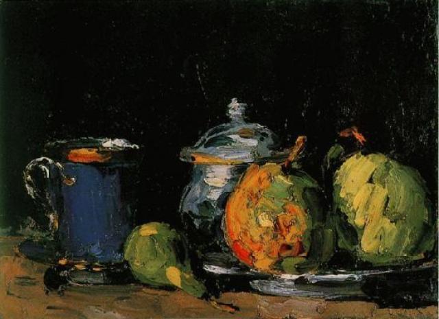 Sucrier-poires-et-tasse-bleue-1865-1866--NR-9