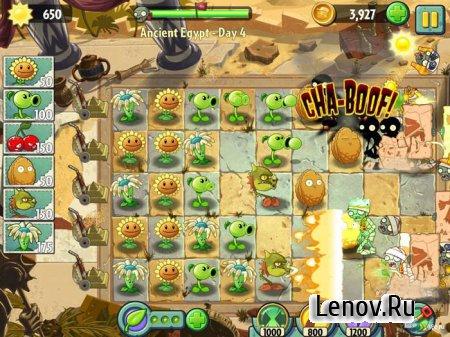 Plants vs. Zombies 2 (обновлено v 6.4.1) Мод (бесплатная покупка алмазов)