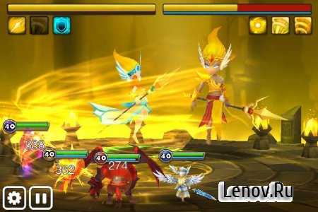 Summoners War: Sky Arena (updated v 3.2.1) Maud (many attacks)