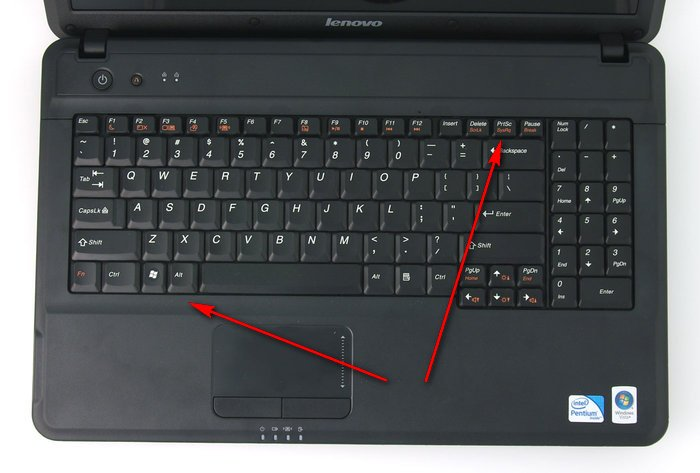 Laptop machen mit screenshot Screenshot auf