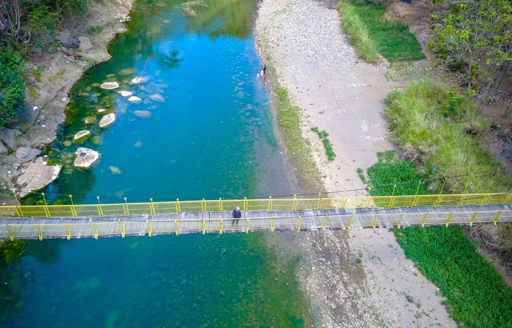 Jembatan Desa Selopamioro Yogyakarta