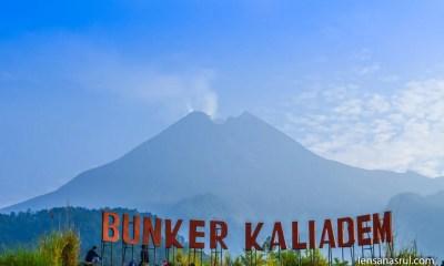 Pemandangan Gunung Merapi dari Bunker Kaliadem