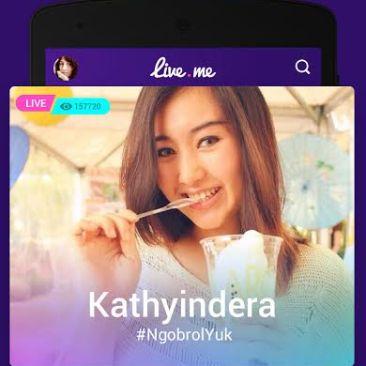live.me aplikasi streaming