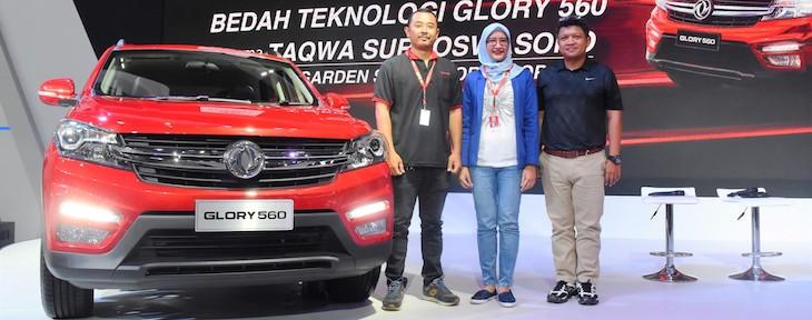 DFSK Berikan Super Warranty hingga 7 Tahun / 150.000 K untuk DFSK Glory 560