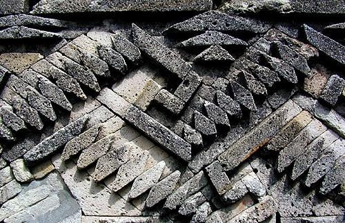 mitla stonework detail