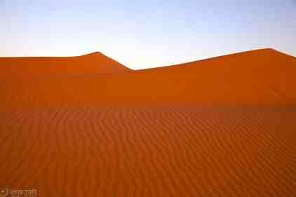 dunes at sunset / erg chebbi, morocco