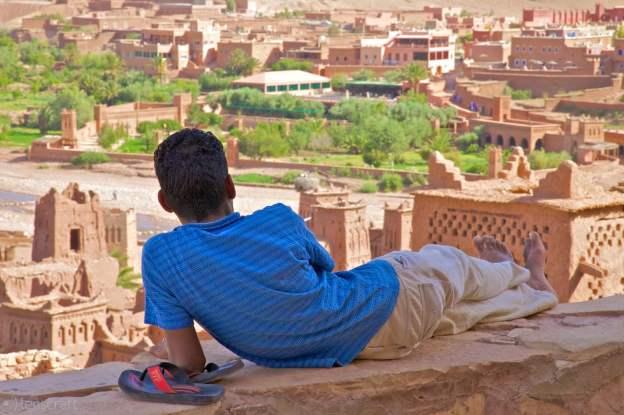 angle of repose / aït benhaddou, morocco
