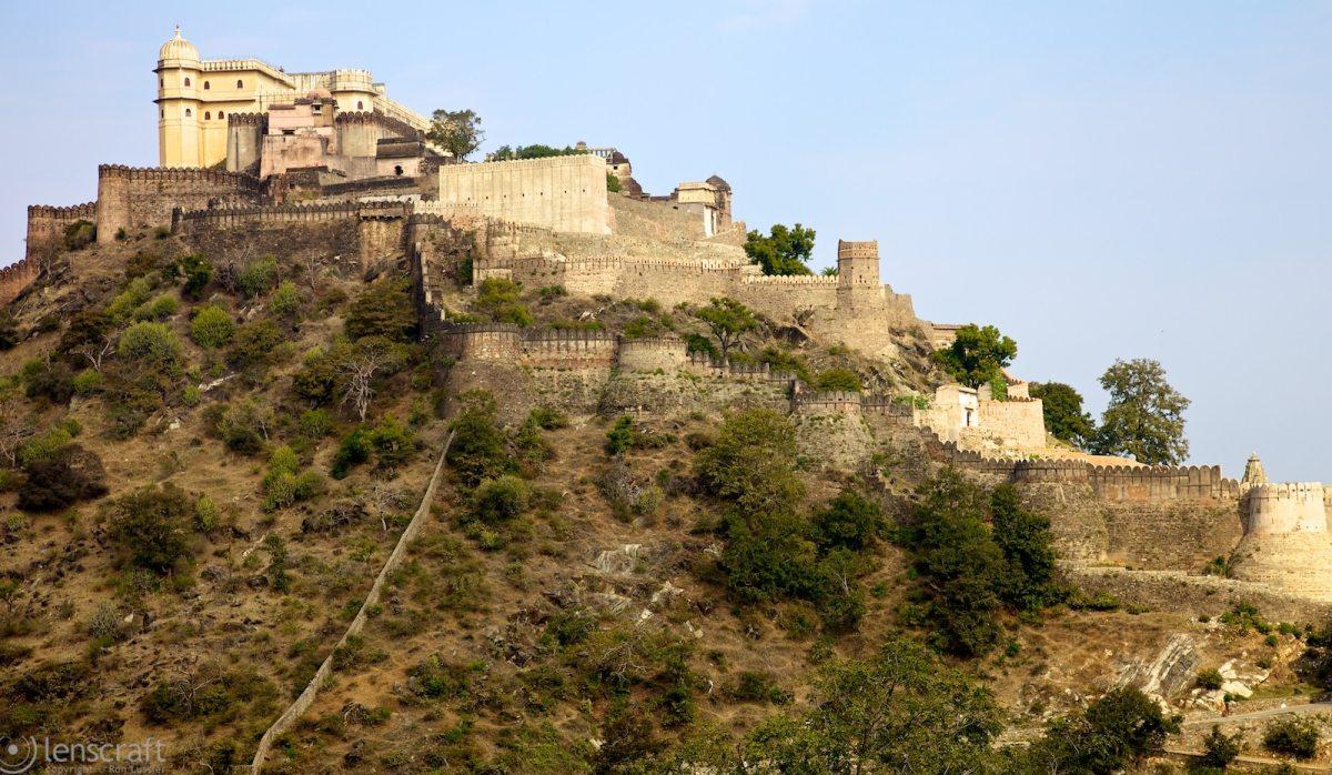 kumbhalgarh fortress / india