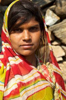 the guarded girl / maya, india
