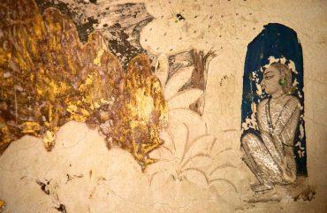 the meditator / maya mandir, india