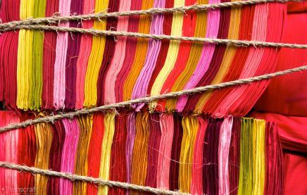 fabric / maha mandir temple, india
