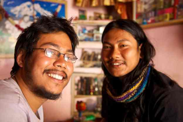 the nepalese tourists / jaisalmer, india