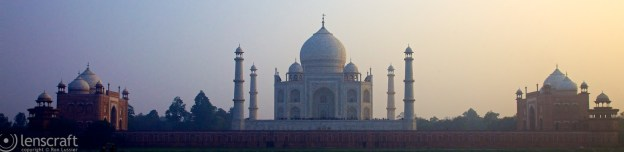 the taj / agra, india