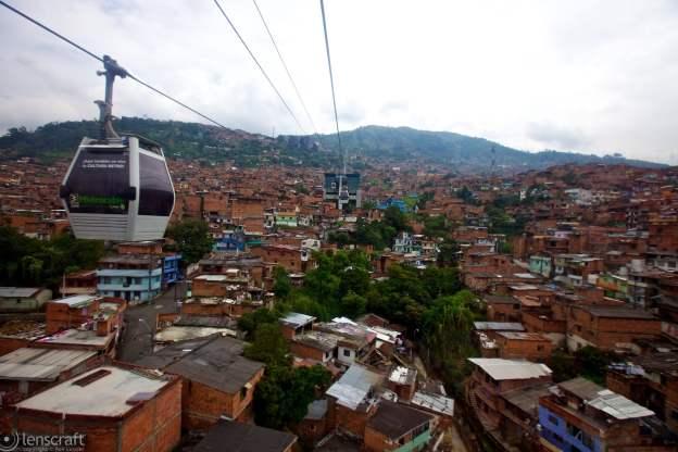 over medellín / colombia