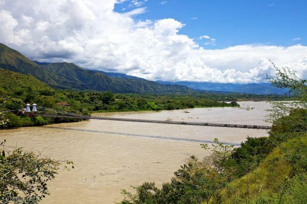 puente de occidente / santa fe de antioquia, colombia