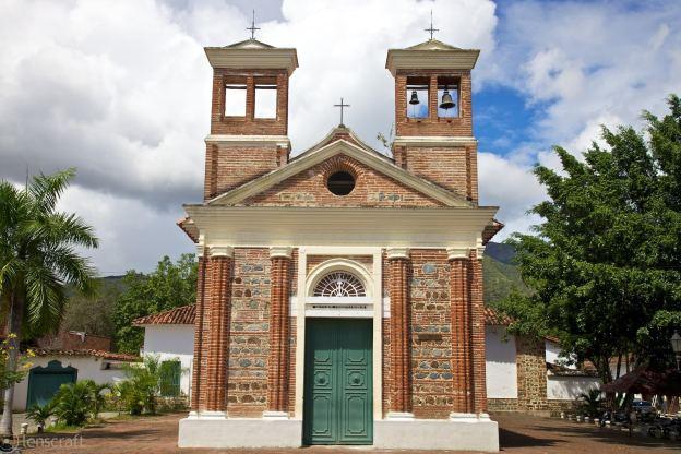 iglesia de chiquinquirá / santa fe de antioquia, colombia