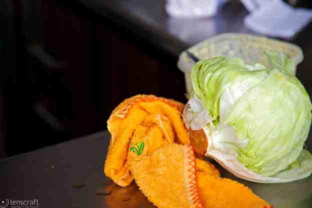 towel & lettuce / south of medellín, colombia
