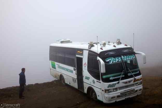 backing towards doom / los nevados, colombia