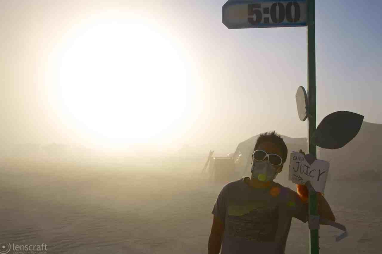 that way to camp juicy / black rock city, nevada