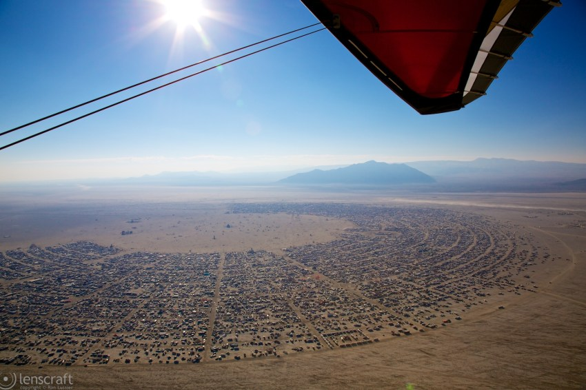 ultralight / black rock city, nevada