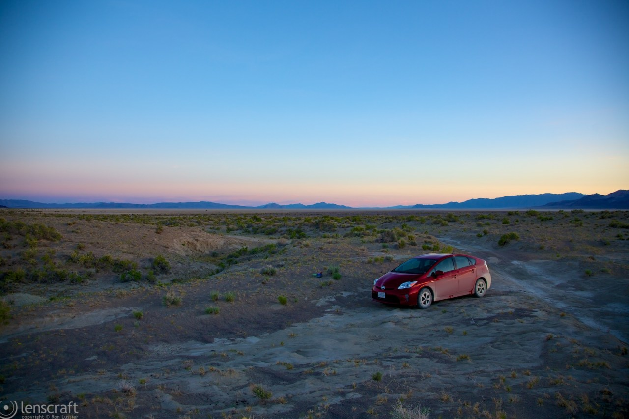 off-road prius / black rock, nevada