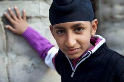 the sikh boy / chandigarh, india