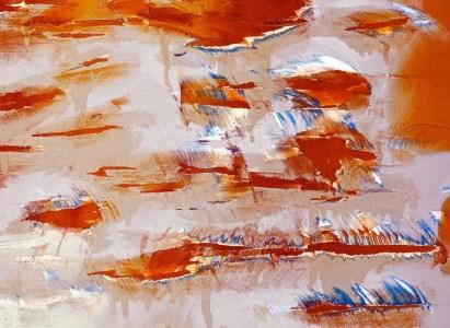 turmoil in amber and cerulean / sausalito, california