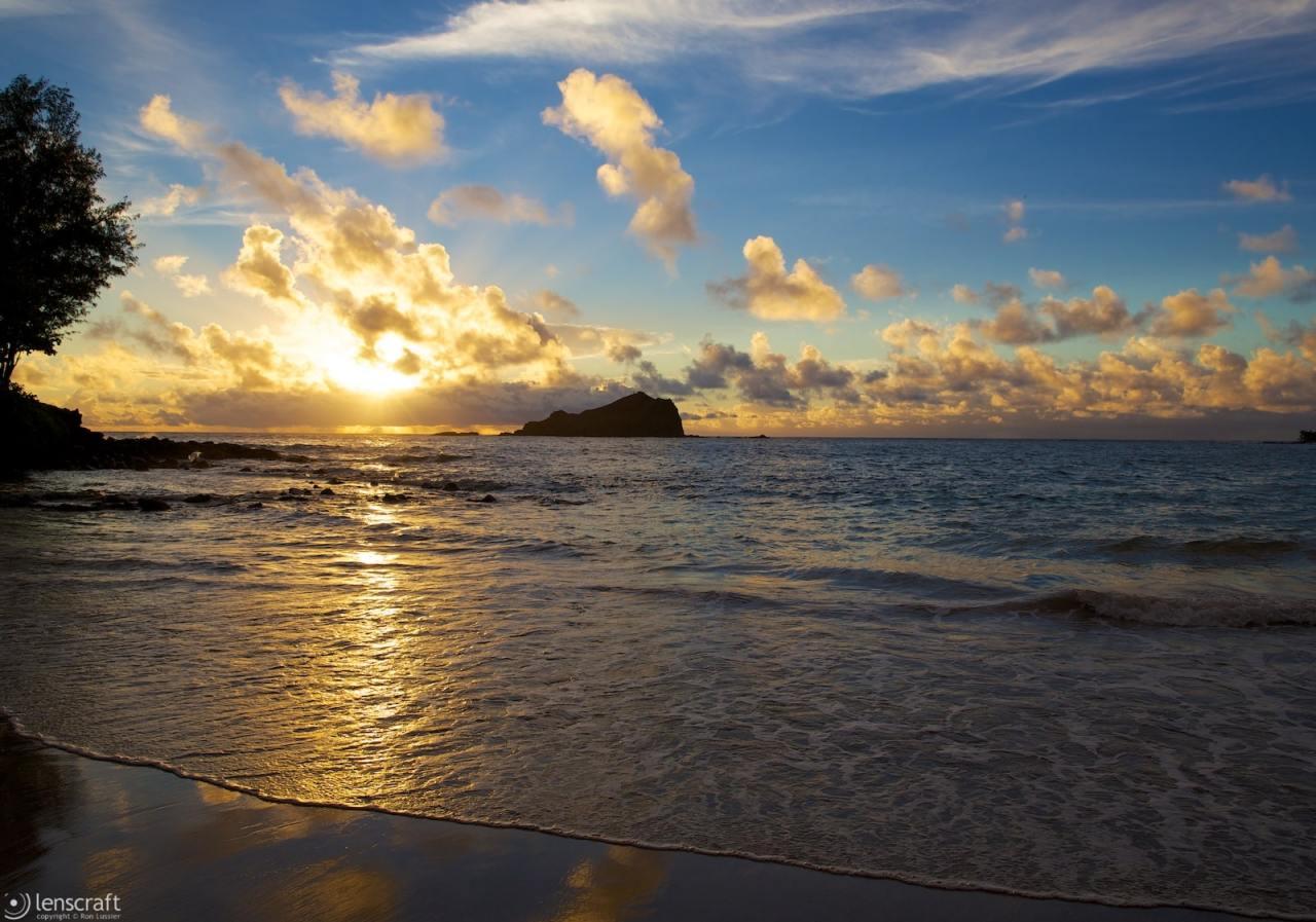 oprah's private beach / hana, hawaii