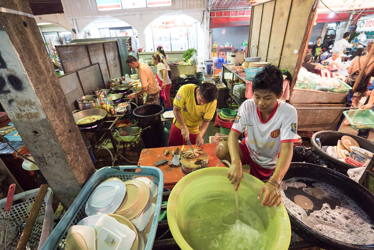 kitchen staff / phuket, thailand