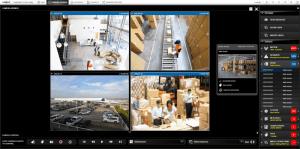 PVMS 4 Camera View - Warehouse