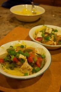 szechwan peppers and tofu