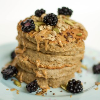 tigernut pancakes {paleo, sugar-free, nut-free, gut-friendly}