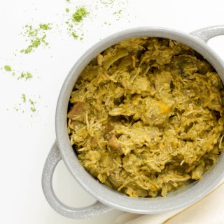 slow cooker matcha coconut curry