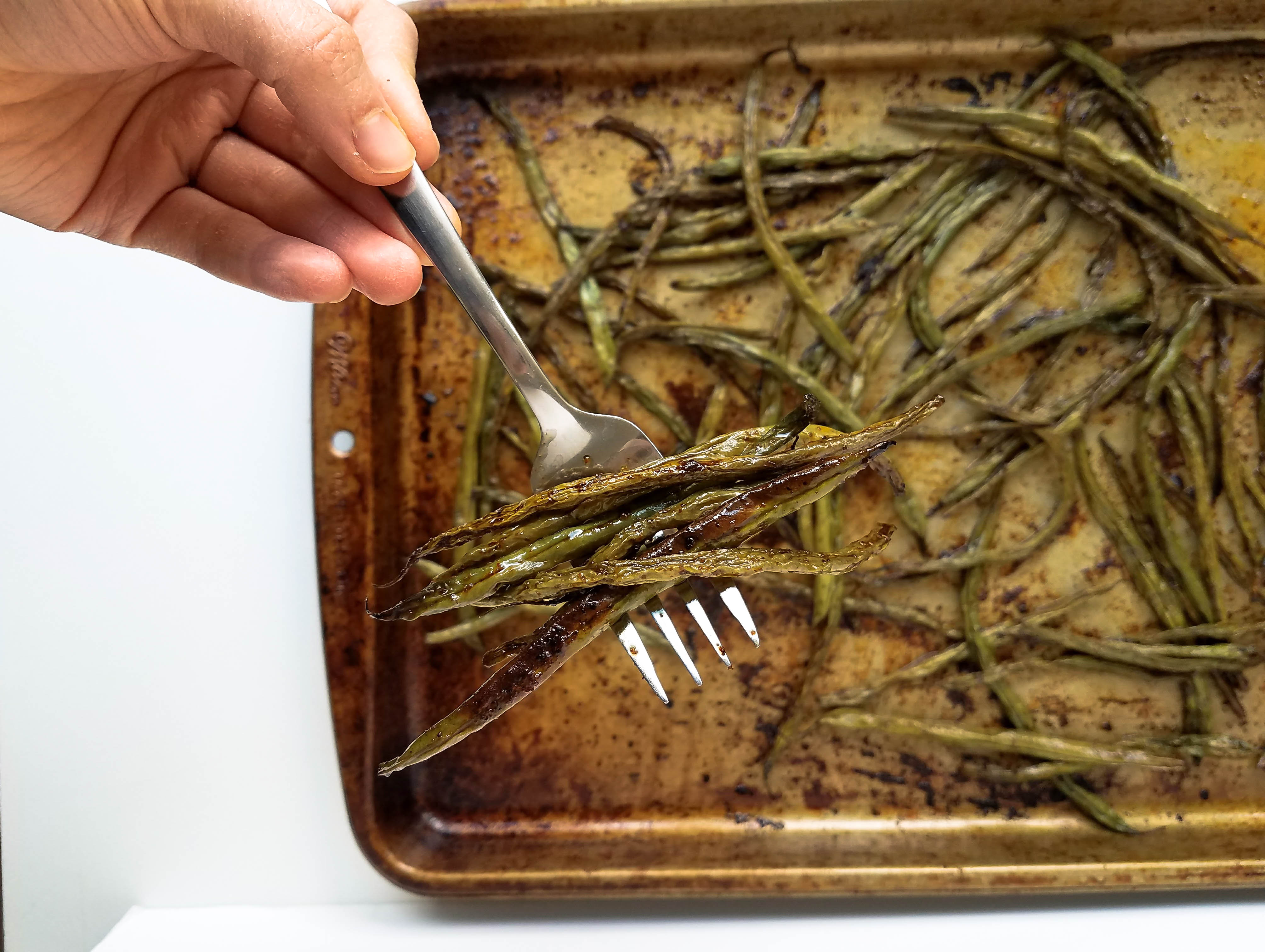 chinese baked string beans