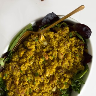 almond date indian quinoa salad