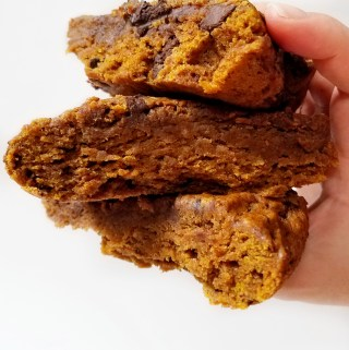 Deep Dish Pumpkin Chocolate Chunk Cookie