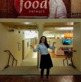 Working at the Food Network