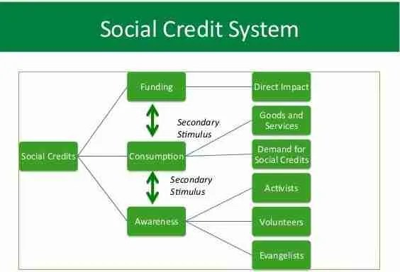 Social Credit System is about citizen conformance 1