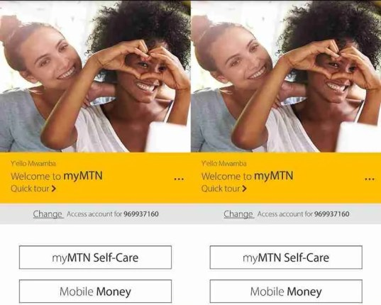 myMTN App is available for the MTN Zambian subscribers