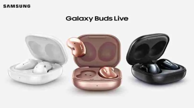 Newest earbuds Galaxy Buds Live