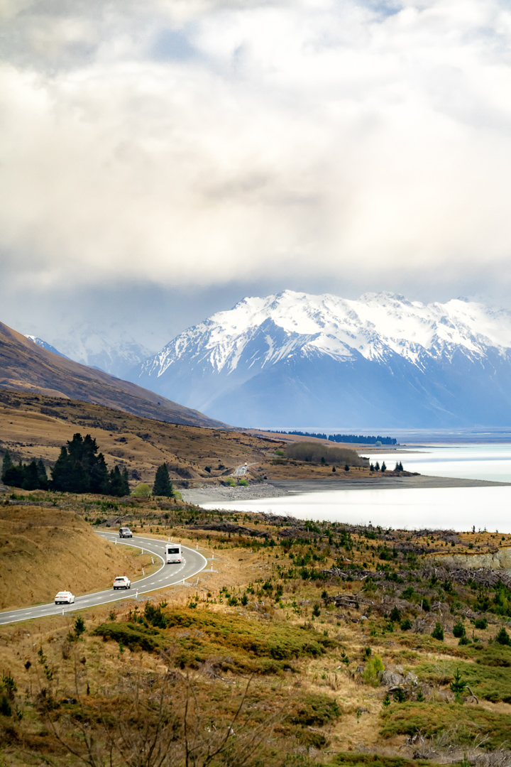 Road to Mt Cook-1