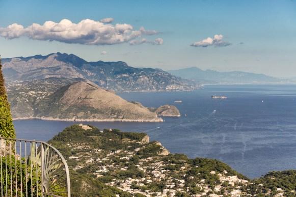 Sorrentine peninsula towards Positano