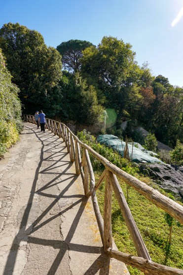 Walkway to Villa Cimbrone