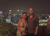 Up at the Marina Bay Sands