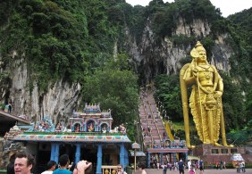 entrance of the Batu Caves