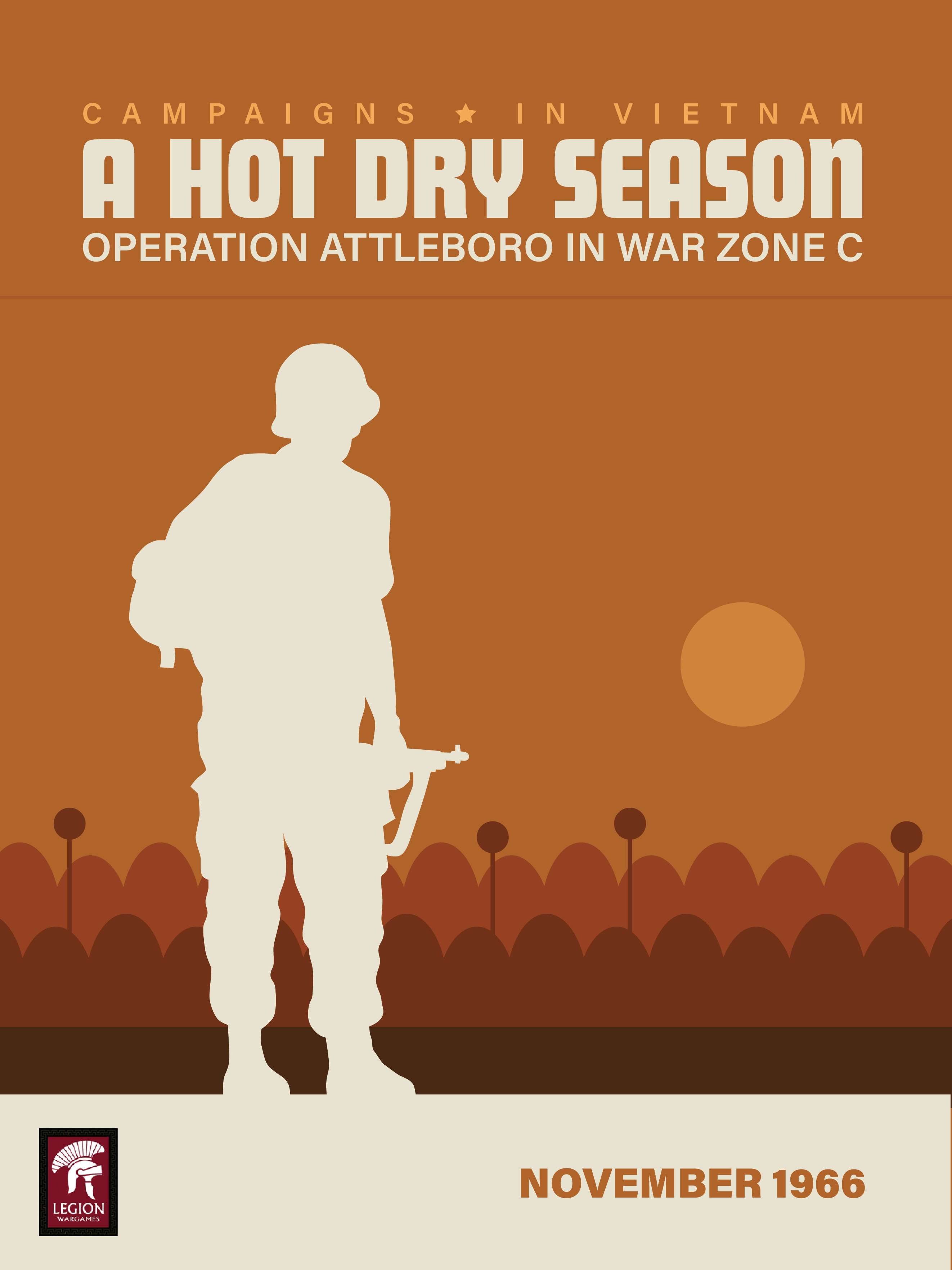Dispatch No. 4: A Hot Dry Season Box Cover Art Released!